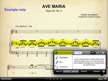 App – Musicnotes Sheet Music Viewer