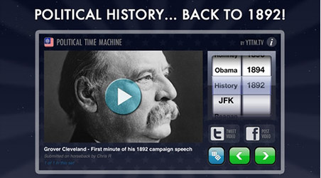 App – Political Time Machine