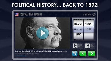 App – Political Time Machine