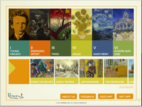 App – Van Gogh: Painted With Words