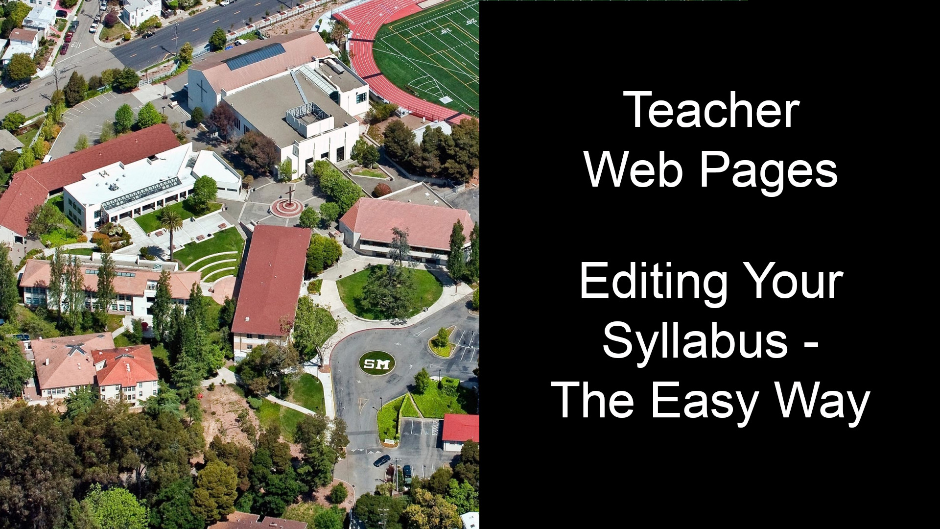 Teacher Web Sites – Updating your Google Doc Syllabus